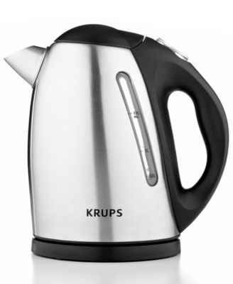 Krups BW740D50 Definitive Series Stainless Steel 1.7-Qt. Electric Kettle