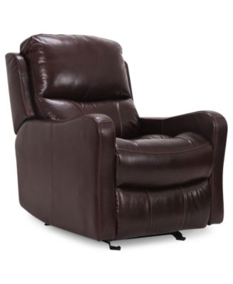 Sheridan Leather Power Recliner Furniture Macy S
