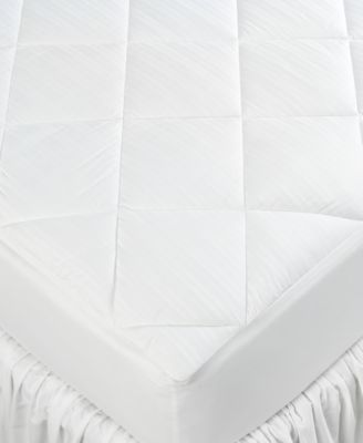 Lauren Ralph Lauren Bedding, 300 Thread Count Dobby Stripe King Mattress Pad