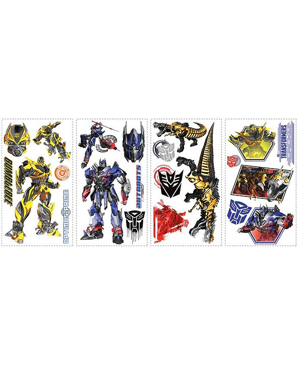 York Wallcoverings Transformers- Age of Extinction Peel and Stick Wall Decals