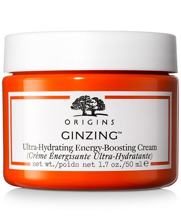 Origins GinZing Ultra-Hydrating Energy-Boosting Cream, 1.7-oz.