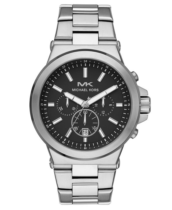 Michael Kors Men's Dylan Stainless Steel Bracelet Watch 45mm