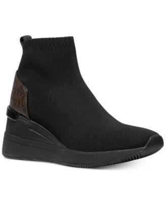 Michael Kors Skyler Wedge Sneakers