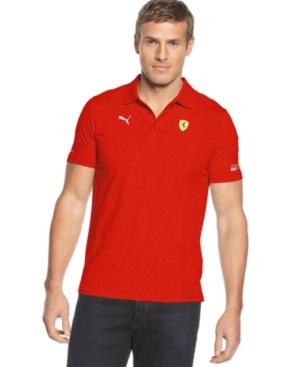 Puma Shirt Scuderia Ferrari Polo