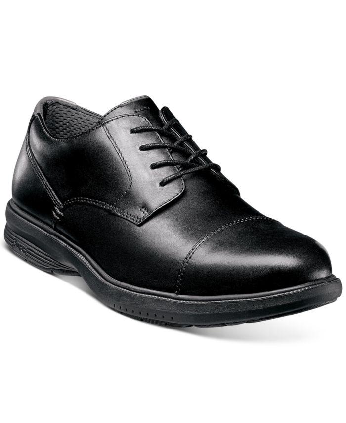 Nunn Bush Men's Melvin Street Oxfords with KORE Comfort Technology & Reviews - All Men's Shoes - Men - Macy's