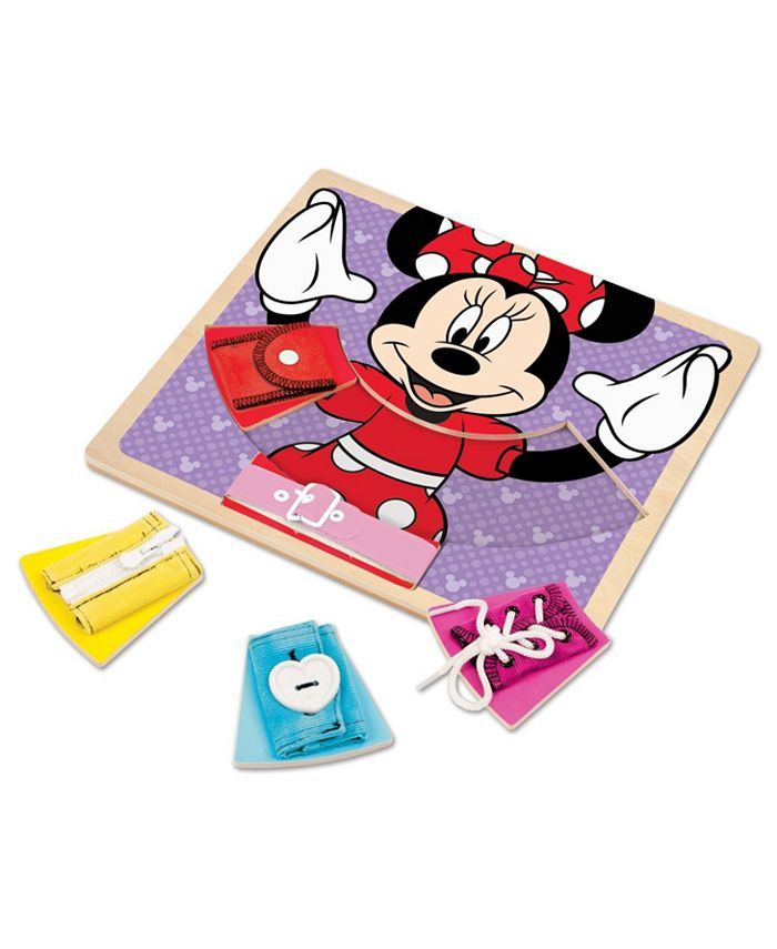 Melissa and Doug - Minnie Wooden Basic Skills Board