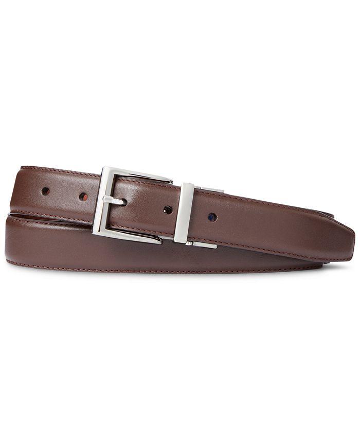 Polo Ralph Lauren - Men's Reversible Leather Dress Belt