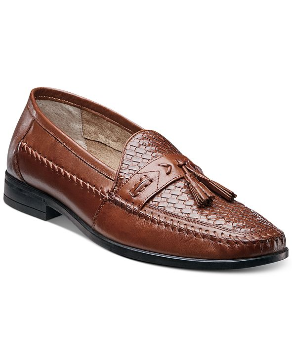 Nunn Bush Men's Strafford Woven Tassel Loafers