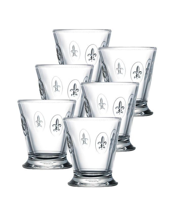 La Rochère - Fleur De Lis Double Old-Fashioned Glasses, Set of 6