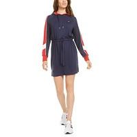 Deals on Tommy Hilfiger Sport Hooded Drawstring-Waist Dress