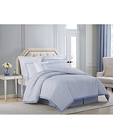CLOSEOUT! Charisma Settee Cotton Printed Queen 4 Piece Comforter Set