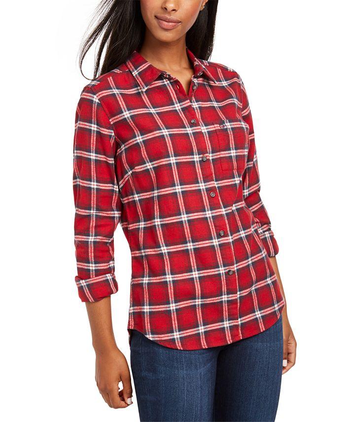 Fjällräven - Ovik Cotton Plaid Flannel Shirt