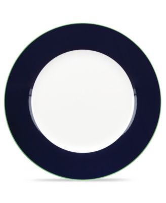 kate spade new york Dinnerware, Hopscotch Drive Navy Dinner Plate