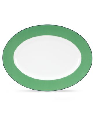 kate spade new york Dinnerware, Hopscotch Drive Green Platter