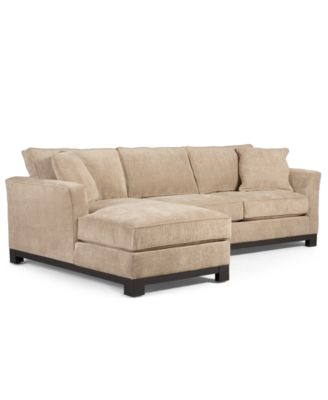 Radley 3 Piece Fabric Chaise Sectional Sofa Furniture
