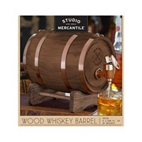 Deals on Studio Mercantile Whiskey Barrel 5L