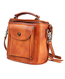 Old Trend Isla Leather Crossbody Bag