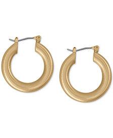 "Lucky Brand Small Tubular Hoop Earrings 1"""