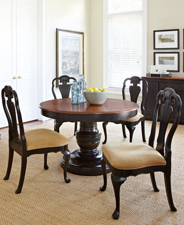 Hand painted dining room furniture collection furniture for Painted dining room furniture