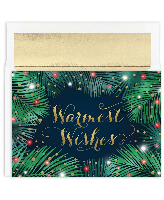 Masterpiece Studios Palms & Lights Holiday Boxed Card