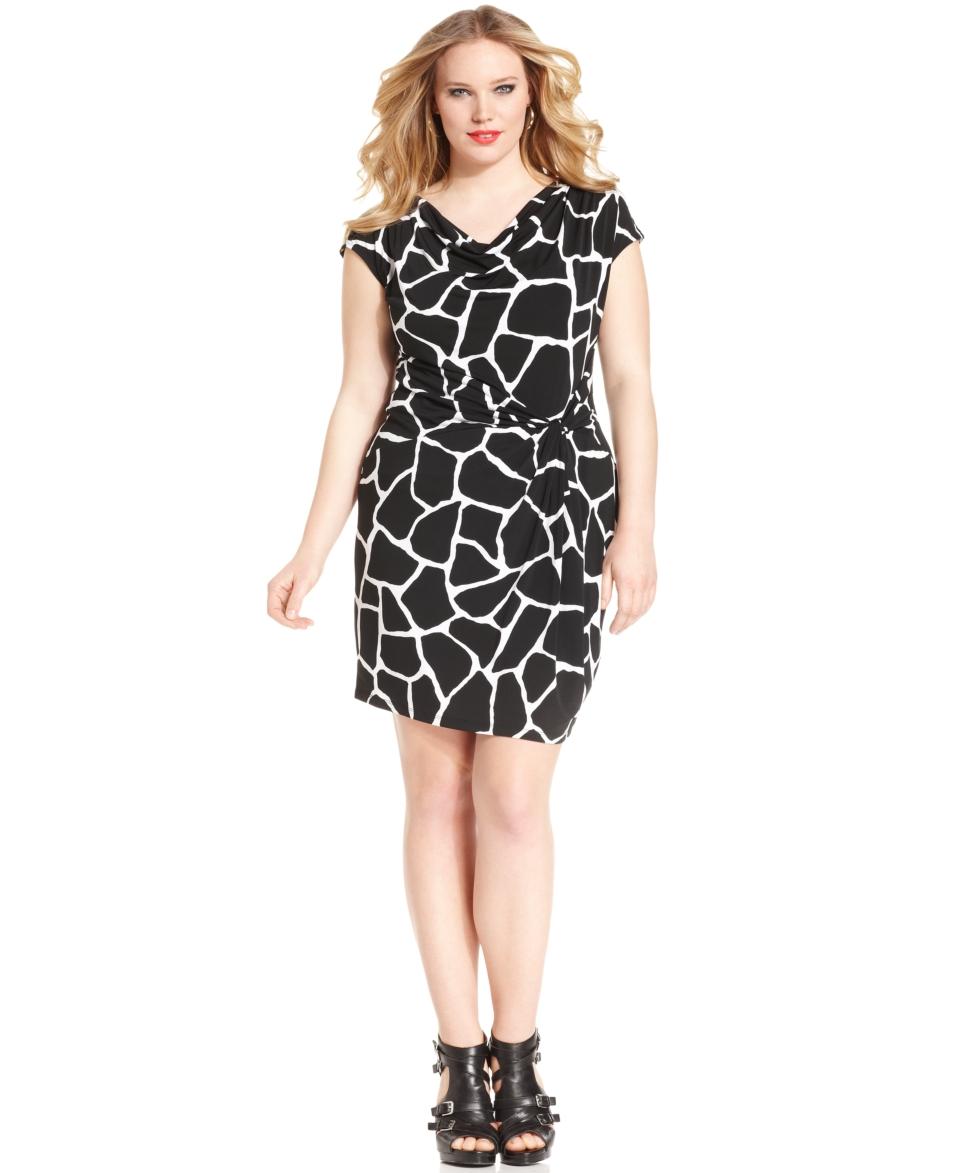 rox plus plus size dress sleeveless printed orig $ 79 00 51 99