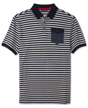 Sean John Shirt Textured Pocket Polo