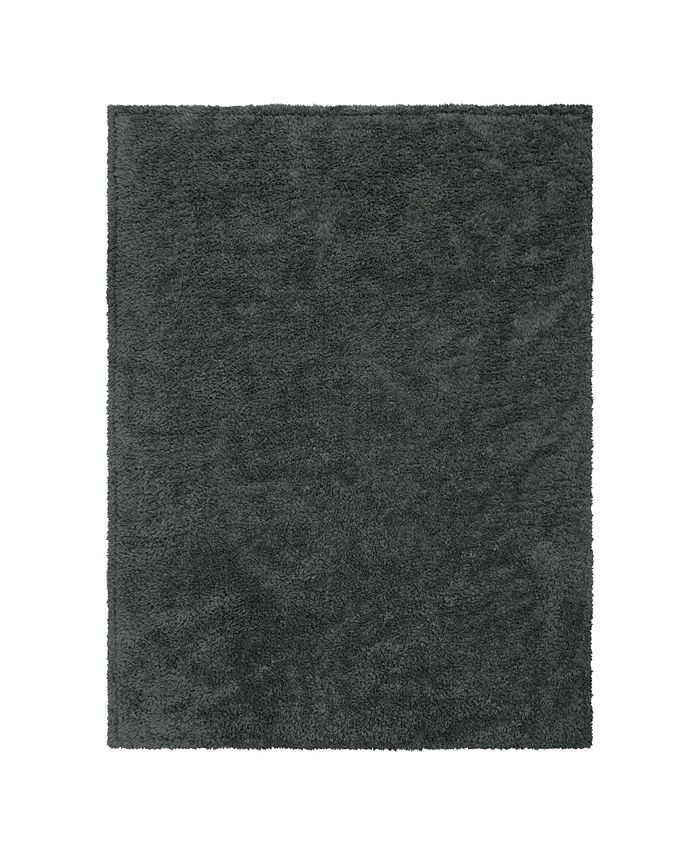 Trend Lab - Gray Plush Baby Blanket
