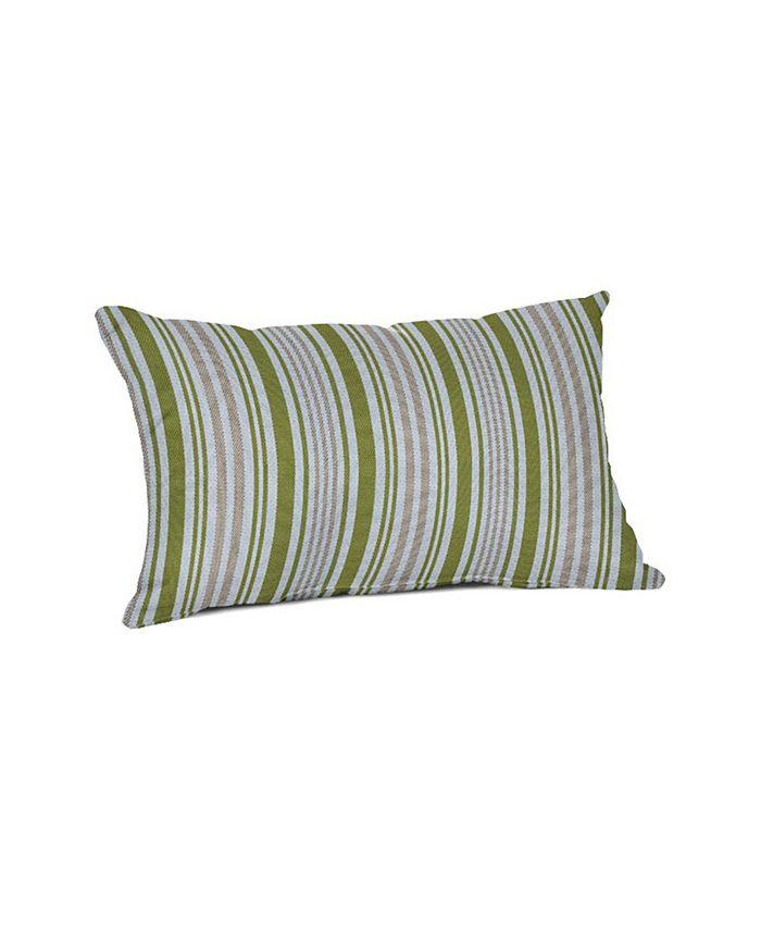 outdoor lumbar throw pillow 19 x 12