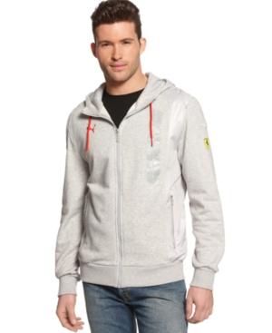 Puma Sweatshirt Scuderia Ferrari Hooded Sweat Jacket