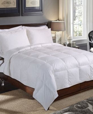 240 Thread Count Baffle Box Down Fiber Comforter, King