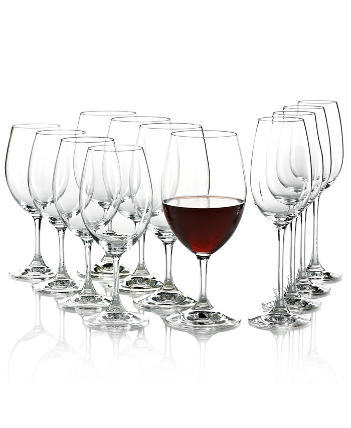 Riedel - Wine Glasses, Ouverture Red, White & Champagne Pay 8 Get 12 Set