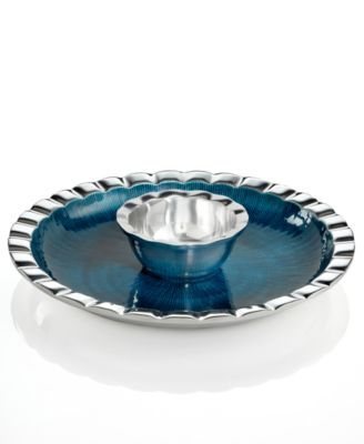 Simply Designz Serveware, Fluted Chip and Dip