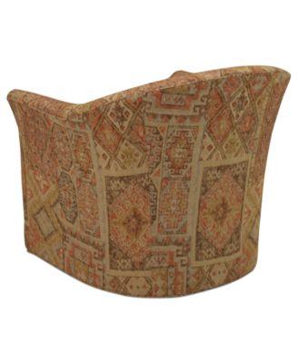 Michelle Fabric Living Room Swivel Chair Furniture Macys