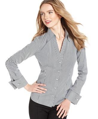Brilliant Women39S Blouse With French Cuffs  Silk Blouses