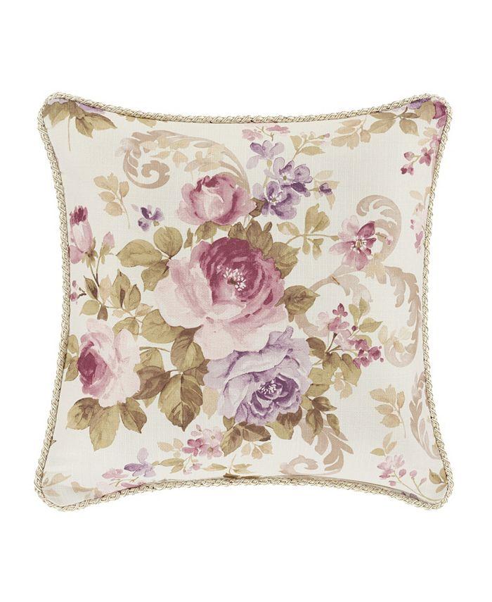 "Royal Court - Chambord Lavender 16"" Square Decorative Throw Pillow"