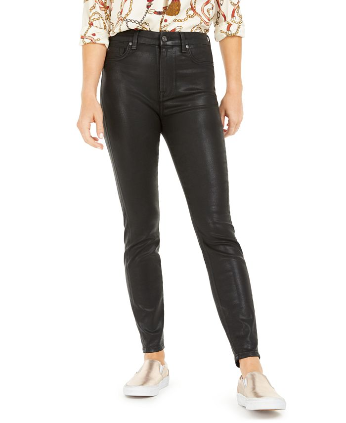 7 For All Mankind - High-Waist Skinny Ankle Jeans
