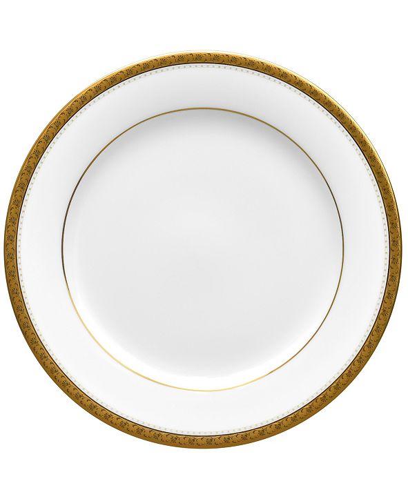 Noritake Charlotta Gold Bread Butter/Appetizer Plate