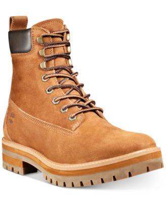 Courma Guy Rust Nubuck Boots