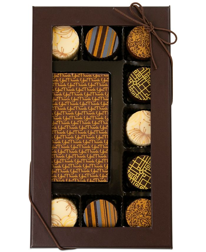 Chocolate Works - 10-Pc. Thank You Chocolate Truffle Assortment