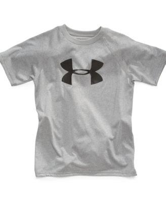 under armour shirts for boys. under armour little boys\u0027 big logo tee shirts for boys -