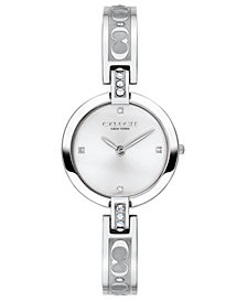 COACH Women's Chrystie Stainless Steel Bracelet Watch 26mm