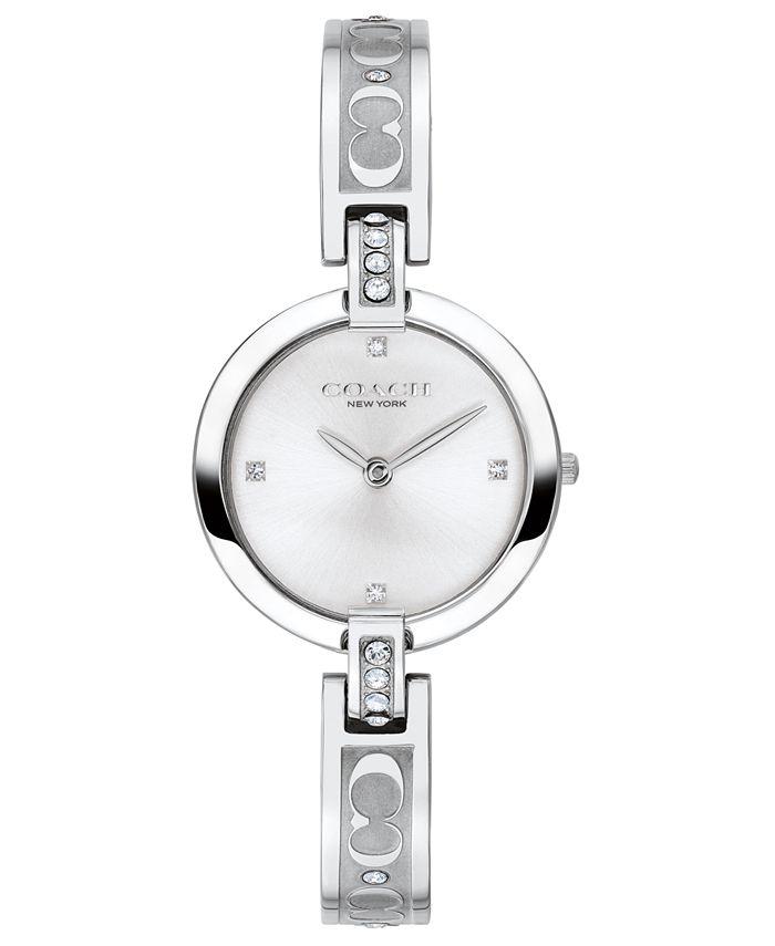 COACH - Women's Chrystie Stainless Steel Bangle Bracelet Watch 26mm