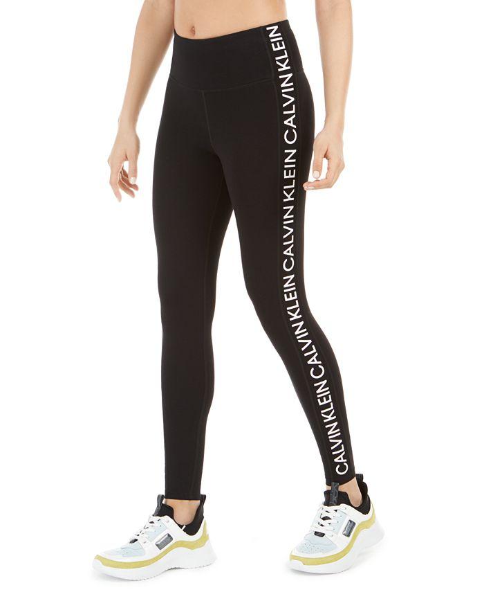 Calvin Klein - Logo High-Waist Leggings