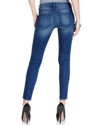 Guess power skinny jeans with rinse