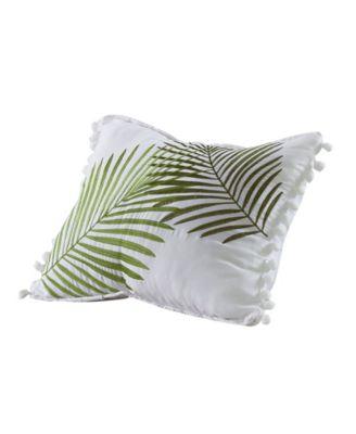 "Paradise Palms Pillow, 18"" x 18"""
