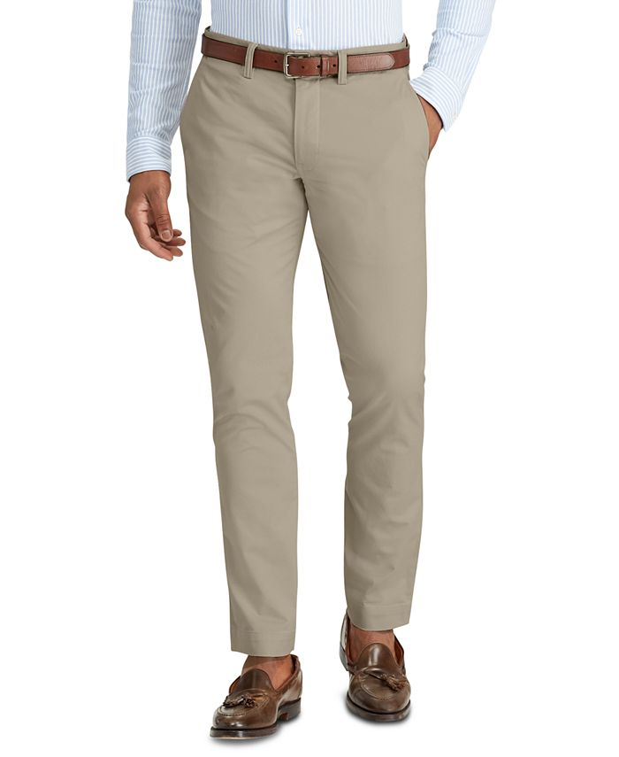 Polo Ralph Lauren - Men's Straight-Fit Bedford Stretch Chino Pants