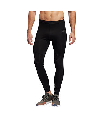 exótico simpatía feo  adidas Men's Own the Run Ventiliated Running Tights & Reviews - All  Activewear - Men - Macy's