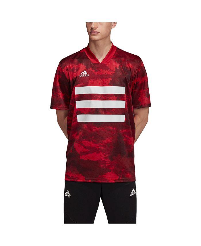 adidas Men's Tango All Over Print Jersey & Reviews - T-Shirts ...