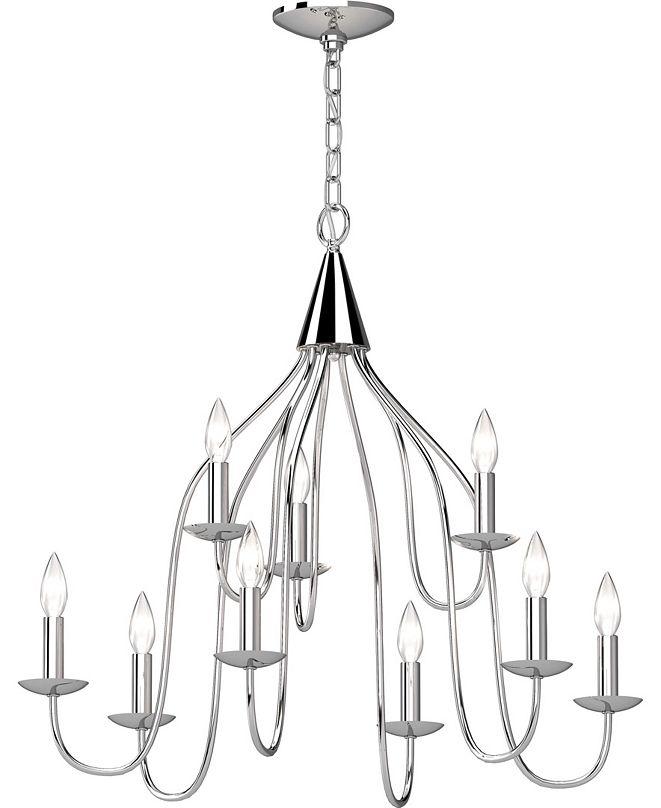 Volume Lighting Windsor 9-Light Hanging Chandelier