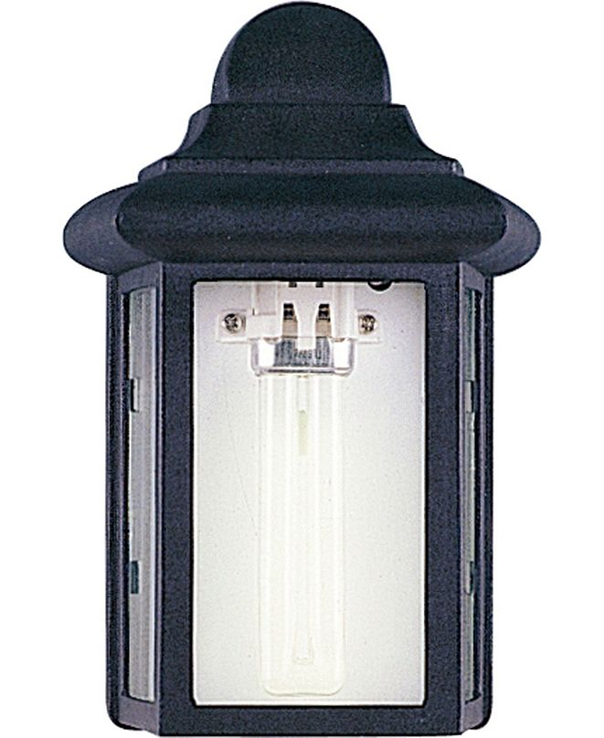 Volume Lighting 1-Light Aluminum Lamp/Lantern Wall Mount
